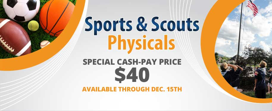scouts and sports physicals